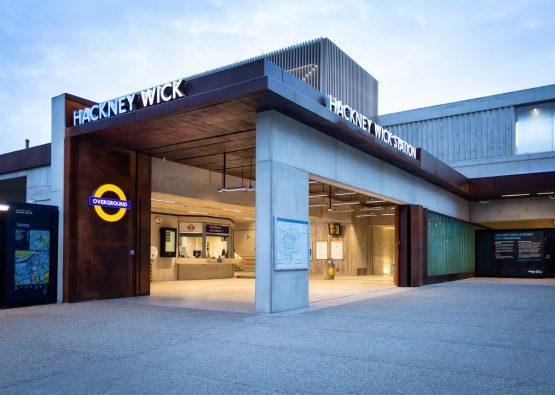 Hackney Wick Station, London